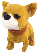 Baby Chihuahua Battery Operated Plush Toy