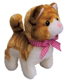 Brown Kitty Battery Operated Cat