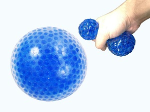 Cryogel Squeeze Ball for hand therapy