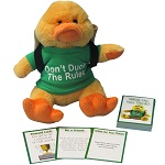 Dorie the Duck Friendship Far Backpack Buddy