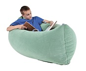 Inflatable PeaPod calmer