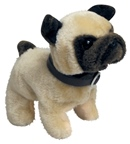 Plush battery Operated Pug Dog Toy