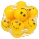 Funfidget Smiley Face Squishy Sensory Ball