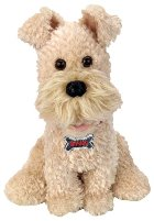 Smiley Singing Terrier Dog Animated Plush Battery Operated Toy
