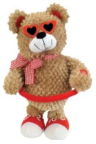 Sugar Pie Singing Bear Battery Operated Plush Toy