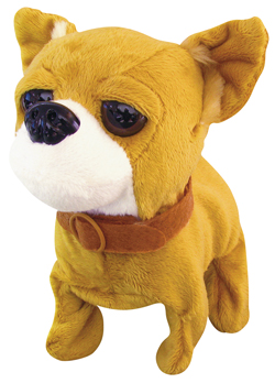 CTS-BCCBO - Baby Chihuahua Dog Battery Operated Plush Toy $15.50