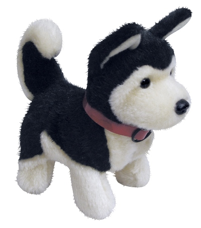 CTS-BGSBO - Baby German Shepherd Dog Battery Operated Plush Toy $15.50