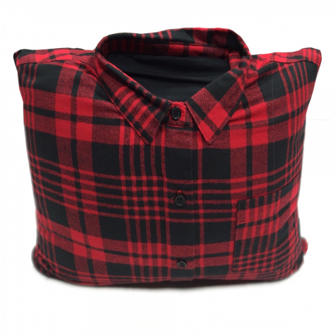 Flannel Trendable Vibrating Pillow