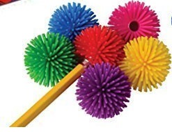 Puffer Ball Pencil Topper Fidgets
