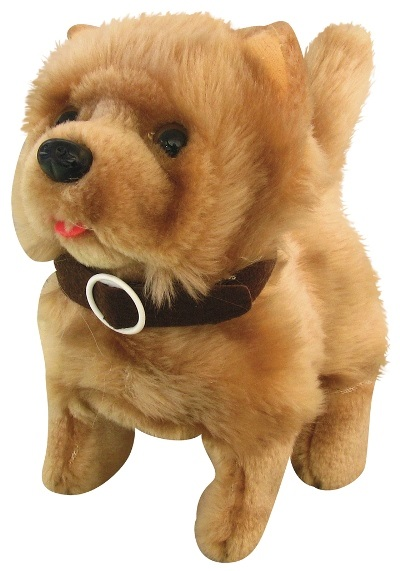 CTS-BCCBO - Baby Chow Chow Dog Battery Operated Plush Toy $15.50