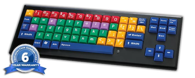 MyBoard™ Kid's Keyboard Lower Case Keys  from  Chester Creek Technologies