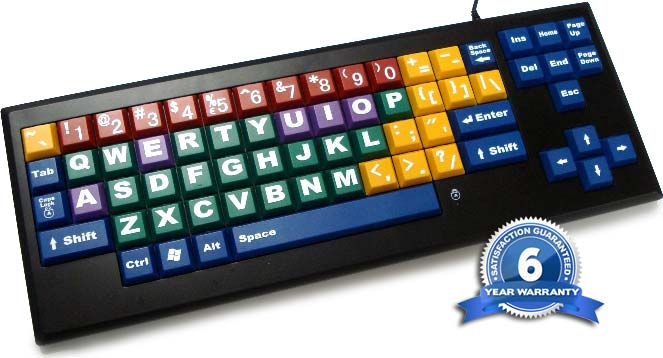 MyBoard™ Kid's Keyboard Upper Case Keys